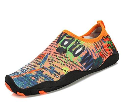 Ligero de natación Athletic Cojín de aire Monk-correas Running transpirable PE entrenamiento de gimnasio cómodos zapatos de los hombres UE tamaño 38-45 letters blue