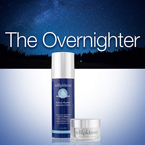 Trilipiderm Night Hydration 8oz 1.7oz The Overnighter Penetrating Moisturizing Cream for Body and Face Night Cr me and All-Body Moisturizer