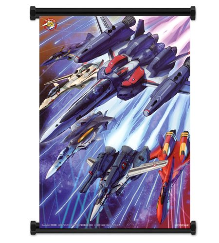Macross Anime Fabric Wall Scroll Poster  Inches. -Macross-1