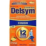 Delsym Children's 12 Hr Cough Relief Liquid, Orange, 3oz