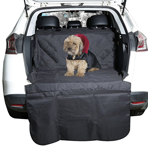 (Cargo Liner Cover, OUTAD Waterproof and Non Slip Backseat Dog Seat for SUV, Trunks, Adjustable Universal Fit for Any Animal (78.0x42.0inch))