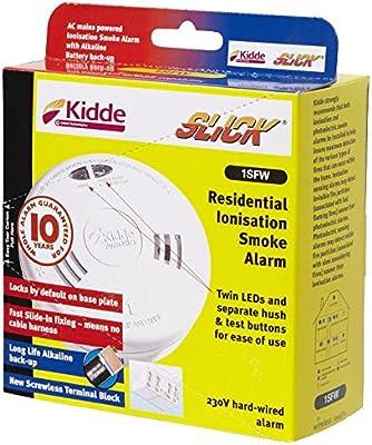 Kidde 1SFW - La Ionización Detector De Humo Con Capacidad Inalámbrica