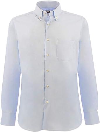 Ingram Camisa Azul Claro 44: Amazon.es: Ropa y accesorios