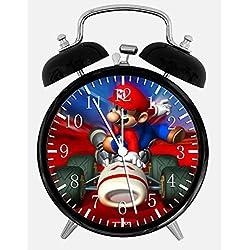 New Super Mario Alarm Desk Clock 3.75 Room Decor W56 Will Be a Nice Gift