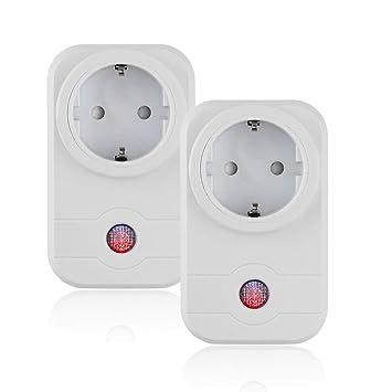 Smart Steckdose Fernbedienung WiFi Switch Steckdose Sprachsteuerung ...
