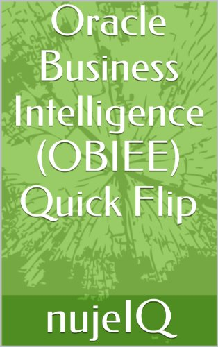 Download Oracle Business Intelligence (OBIEE) Quick Flip Pdf
