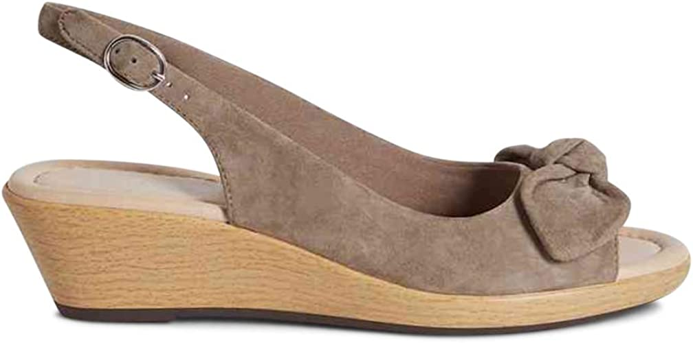 Marks /& Spencer M/&S T024426A Suede T024426 Leather Wedge Heel Sandals £39.50
