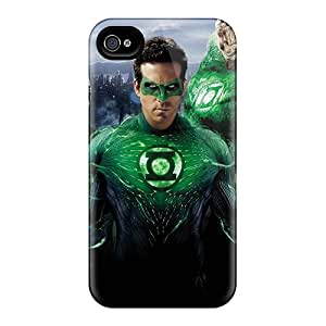 Perfect Fit JFn1986Pulg Green Lantern Superheroes Case For Iphone - 4/4s