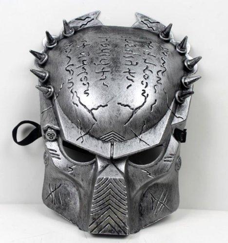 Predators Masks (Predator Aliens vs Predator mask disguise face mask [silver] 12mm width belt with silver (japan import) by eDream)