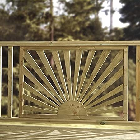 Contemporary Sun Wooden Design Pressure Treated Panel Sunshine Decking Panels