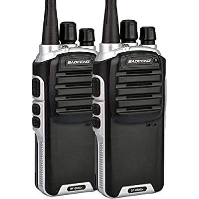 Baofeng BF-888S Plus UHF Walkie Talkie Long Distance Range Communication Two-Way Radios(Pack of 2)