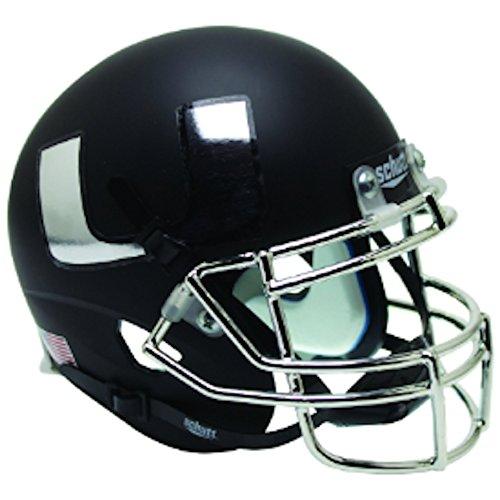 Miami Hurricanes Alternate 5 Schutt Mini Football Helmet