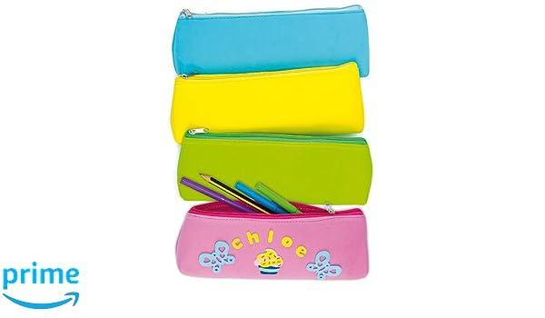 Amazon.com: Baker Ross Foam Pencil Cases with Zip Top | 9 ...