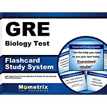 GRE Biology Test Flashcard Study System: GRE Subject Exam Practice Questions & Review for the Graduate Record...
