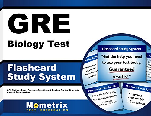 GRE Biology Test Flashcard Study System: GRE Subject Exam Practice Questions & Review for the Graduate Record Examination (Cards) by Brand: Mometrix Media LLC