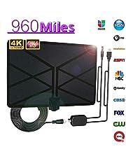 TV Antennas, 960 Mile Range Antenna TV Digital 4K HD Digital Indoor HDTV 1080P Skywire Antenna