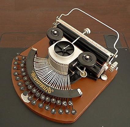 GFEI Maquina de escribir vintage modelo / tienda de ropa la decoracion de ventana decoracion /