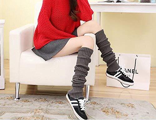 Chaudes Hellgrau Tricot Leggings En Crochet Up Femmes Botte Bottes Tricot En Au De Longues Leggings Style Rmer Écrans Extensible Simple Les Chaussettes Chaud Bottes gF8vwxq