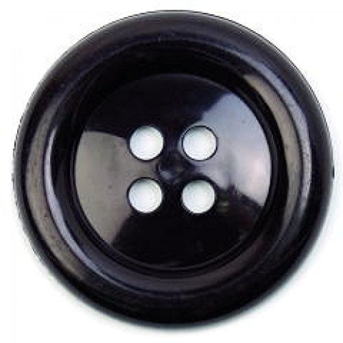 Round Plastic Buttons (Large Round Plastic Buttons - per 2 buttons)