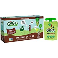 12-Count GoGo squeeZ Applesauce on the Go 3.2 Ounce