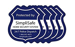Simplisafe Window Decals Pack Of 5 Camera