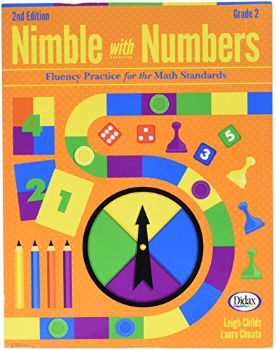 Didax Educational Resources Nimble with Numbers, 2ND Ed. Gr 2 - Edition Instructional Cd
