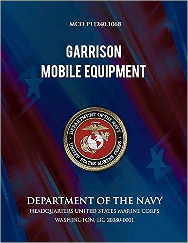 Book Garrison Mobile Equipment