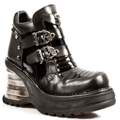 NEWROCK NR M.8330 S1 Black - New Rock Boots - Womens (40) - 8330 Rubber