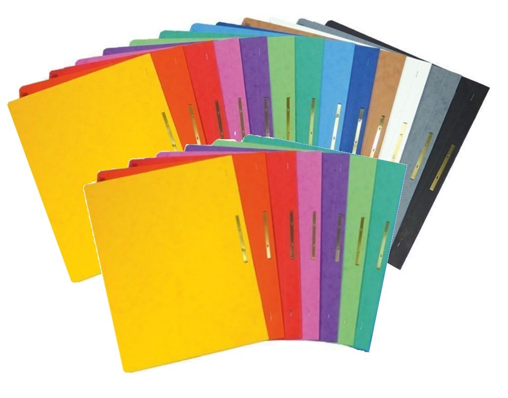 26er MegaPack, Alle Farben Brunnen Schnellhefter Papphefter 13 Farben extra stark 375g
