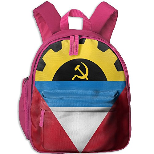 C-JOY Flag Of Antigua And Barbuda Cool Canvas School Bag Simple School Bookbags Backpack