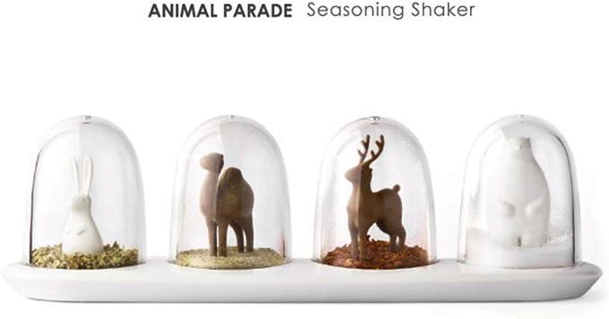 SET//4 ANIMAL PARADE SHAKER SET