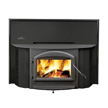 Amazon Com Wood Burning Fireplace Insert For Epi 1402 Metallic