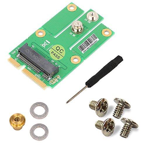 - M.2 NGFF Key B to Mini PCI-E Adapter w/ SIM Card for CDMA GPS LTE