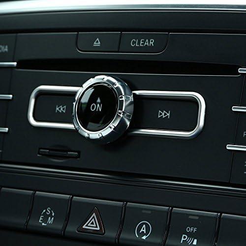 Auto Mittelkonsole Multimedia Schalter Button Abdeckung Besatz Für Cla Gla B Klasse A180 W176 E Gle Class Coupe Auto