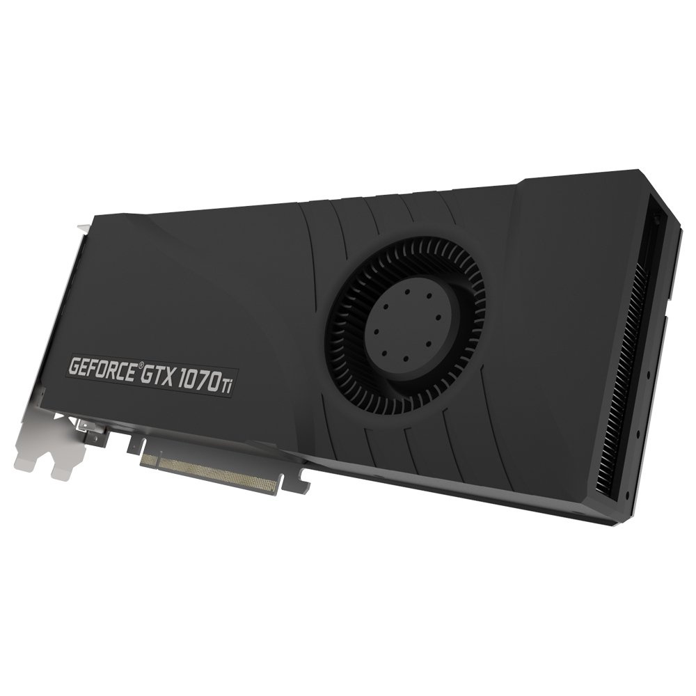 PNY GTX 1070Ti GeForce GTX 1070 Ti 8 GB GDDR5 - Tarjeta gráfica (GeForce GTX 1070 Ti, 8 GB, GDDR5, 256 bit, 7680 x 4320 Pixeles, PCI Express x16 3.0)