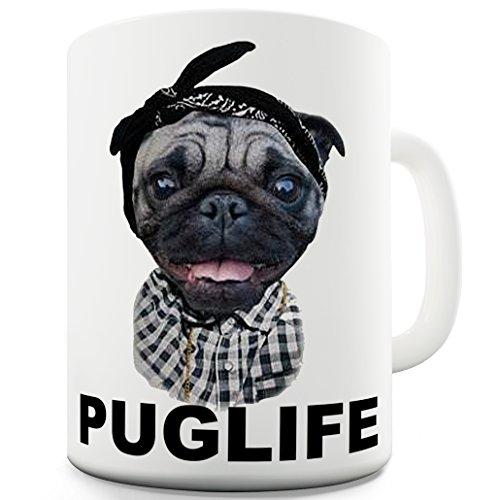 Twisted Envy Pug Life Dog Gangster Funny Mugs For Dad 15 -
