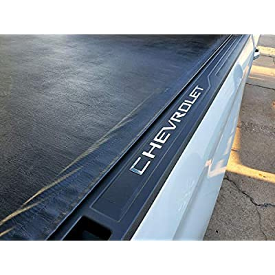 SF Sales USA - Chrome Bed Rail Cap Cover Inserts for Silverado 2020-2020 ABS Letters Not Decals: Automotive