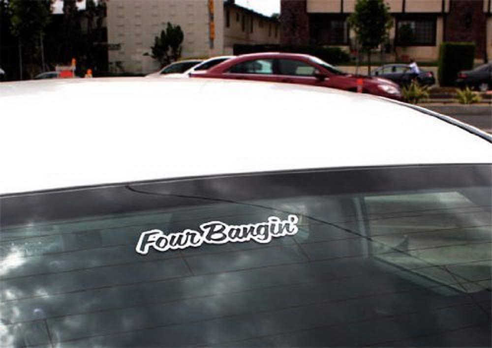 JDM Cool Nation Sortaflash Dope Drift Racing Car Window Bumper iJDMTOY Four Bangin