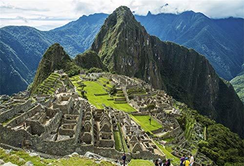Baocicco 7x5ft Historic Sanctuary of Machu Picchu Backdrop Wedding Backdrop Honeymoon Backdrop Mvery Singleu Mveryu Picchu Machu Piddhu Backdrop Scenic Spots Ancient Buildings Photo Studio Props