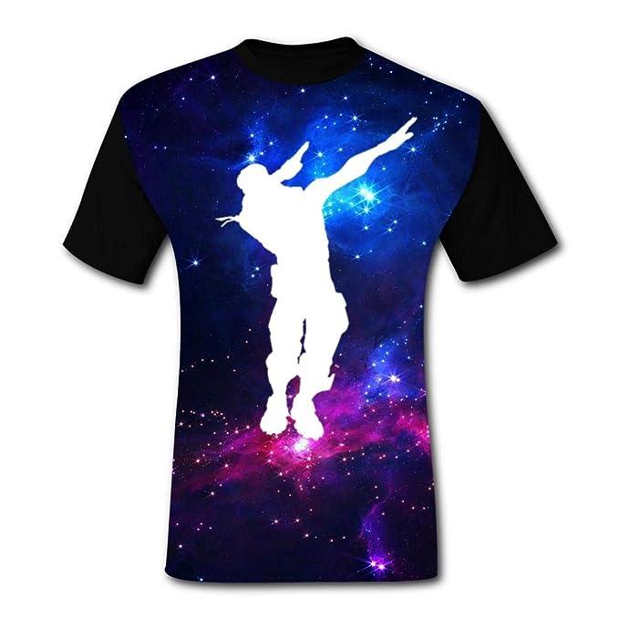 amazon com fortnite dabing men s casual t shirt short sleeve 3d
