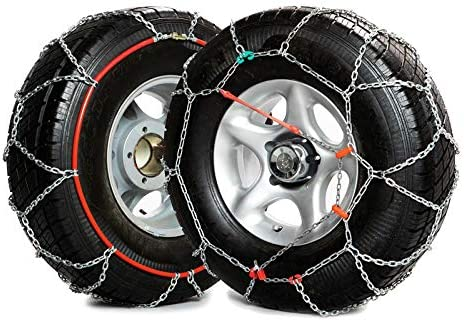 Diamond-Shaped Snow Chains Group 130 9 mm 0-Norm V5117