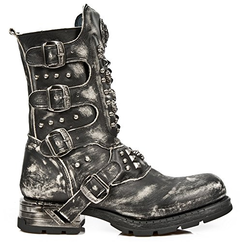 New Rock Men's M-mr019-s2 Cowboy Boots, Black Black, Black