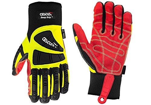 Cestus Pro Series Deep Grip Kool Impact Glove, Medium (Pack of 1 Pair) by Cestus (Image #4)