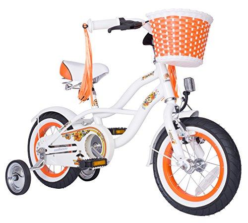 Bikestar 12 Inch  Kids Children Bike Bicycle - Cruiser - Whi