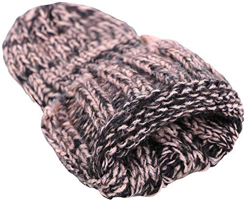 5b753fd46cf ANDORRA 3 in 1 Women Soft Warm Thick Cable Knitted Hat Scarf   Gloves Winter  Set