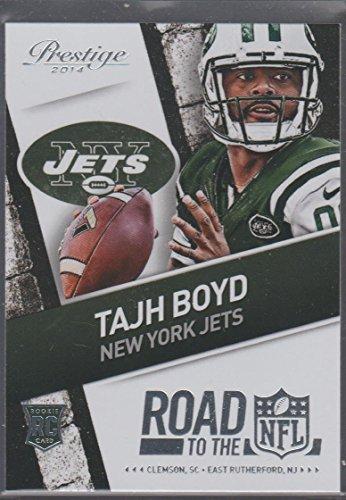 2014 Prestige Tajh Boyd Jets Rookie Football Card #37