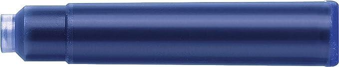 Faber-Castell 6 Tintenpatronen Standard Königsblau x 10 Stück