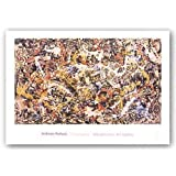 """Convergence by Jackson Pollock 21.75""""x36.5"""" Art Print Poster by The Picture Peddler Inc."""