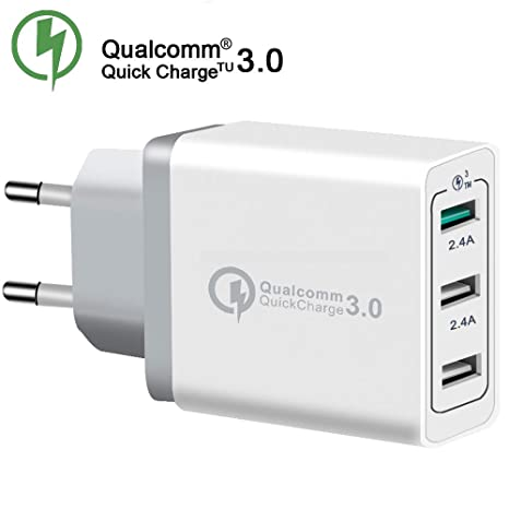 TOP CHARGEUR * Adaptador Cargador 30W Quick Charge 3.0 ...