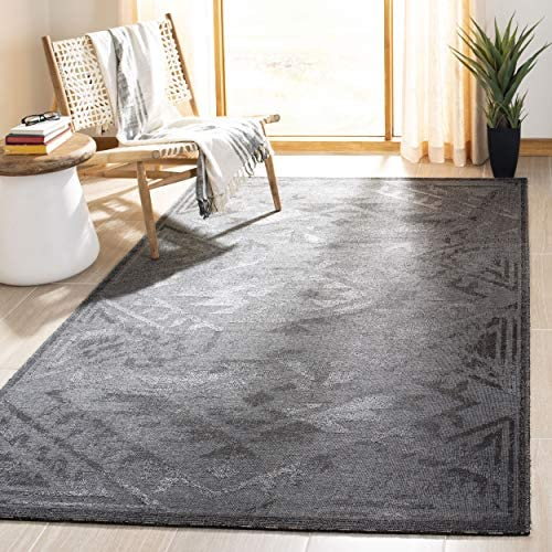 Safavieh Palazzo Collection PAL122-56C6 Black and Grey Area Rug 2 x 3 6